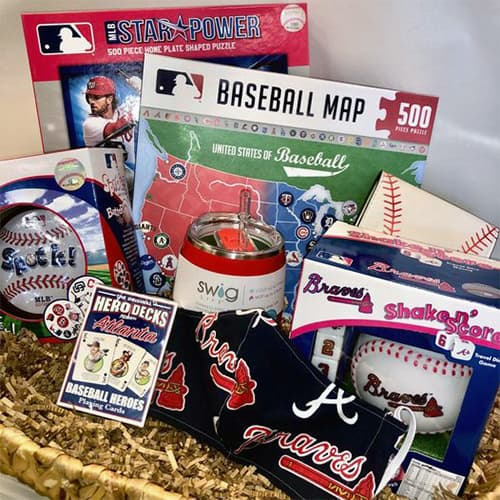 Atlanta Braves Gift Basket
