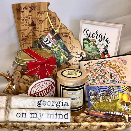 Georgia On My Mind Gift Basket